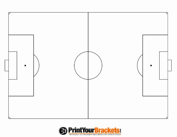 Printable Football Field Template New soccer Field Template Free Download Clip Art