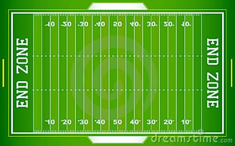 Printable Football Field Template Unique A Scot On Gridiron Football 101 Basic Fensive Plays