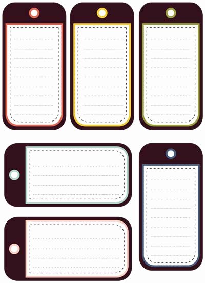 Printable Luggage Tags Template Awesome 4 Best Of Avery Templates Luggage Tag Printable