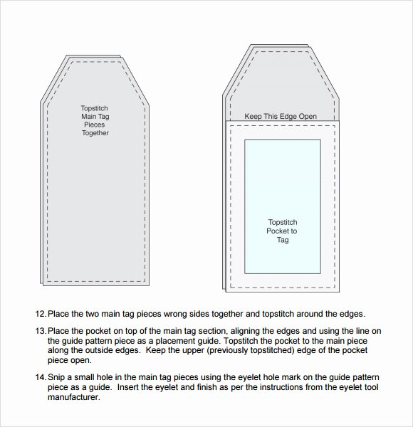Printable Luggage Tags Template Fresh 29 Luggage Tag Templates for Free Download