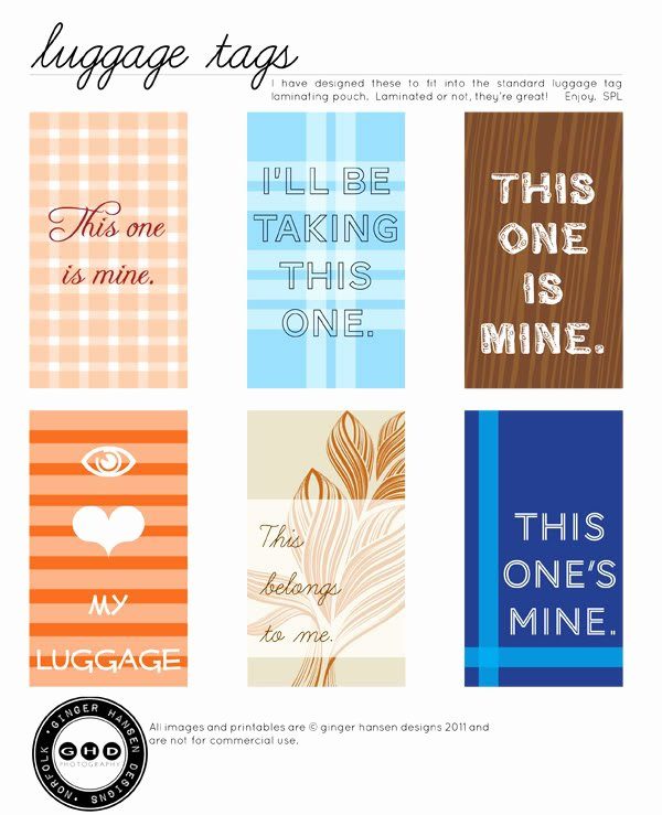 post free printable luggage tags designs