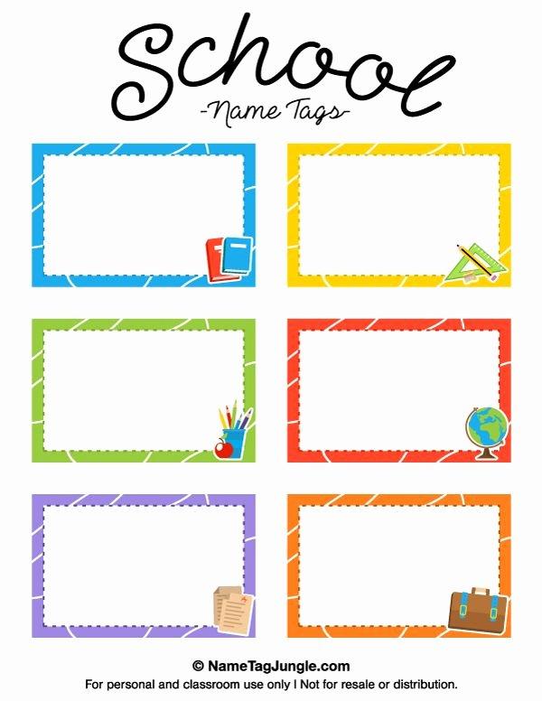 Printable Name Tag Template Beautiful Pin by Muse Printables On Name Tags at Nametagjungle