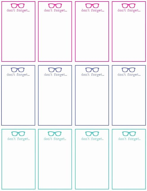 Printable Note Card Template New 24 Of Template Note Card