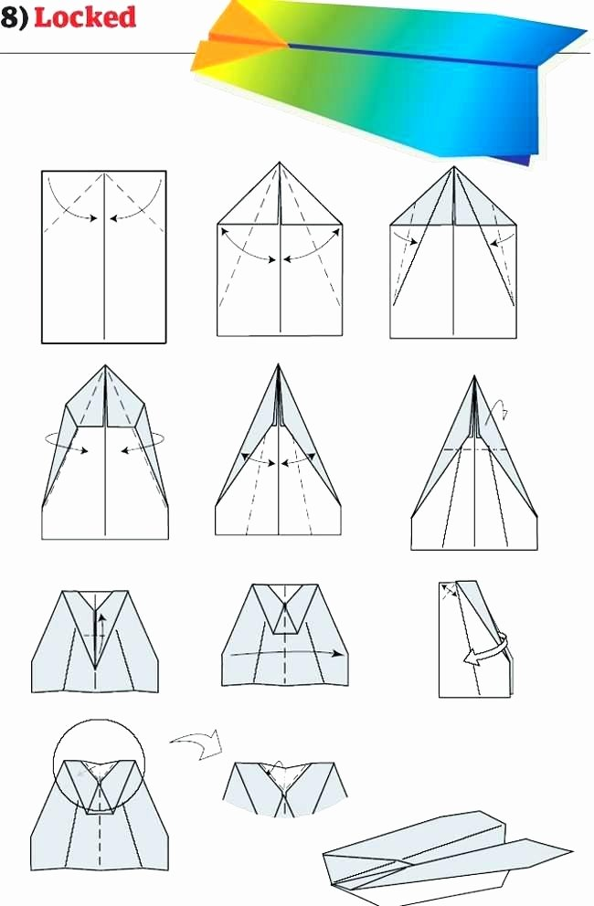 Printable Paper Airplane Template Awesome Paper Airplane Templates About Paper Airplanes