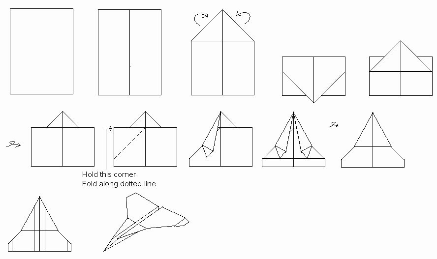 Printable Paper Airplane Template Fresh Paper Airplane Templates