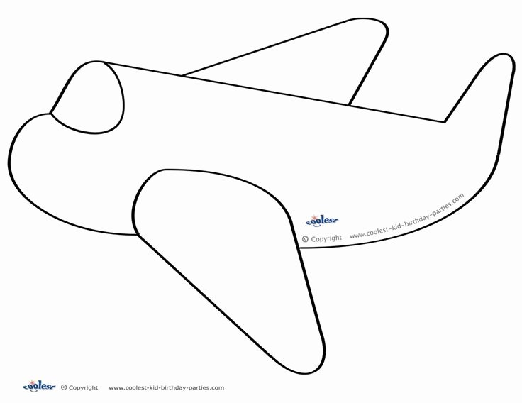 Printable Paper Airplane Template Inspirational 79 Best Images About Airplane Birthday Printables On