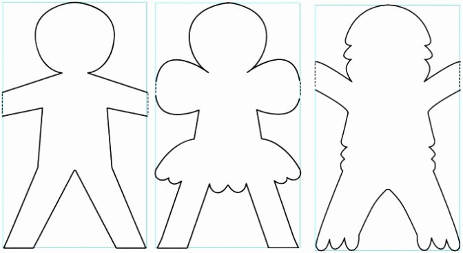 Printable Paper Doll Template Best Of Free Printable Paper Doll Template Dresses & Clothing