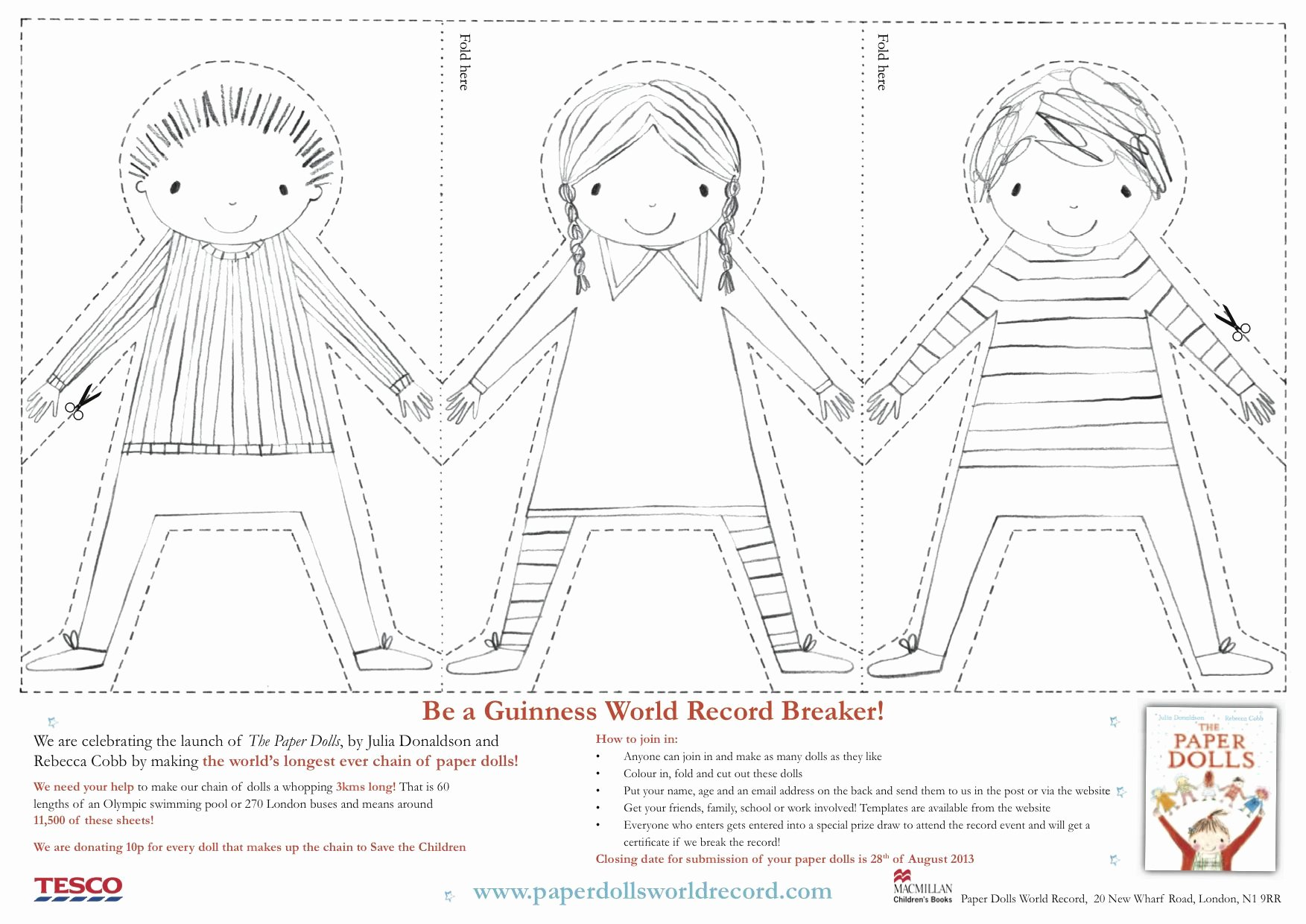 Printable Paper Doll Template Unique Paper Doll Chain Template Google Search Crafty