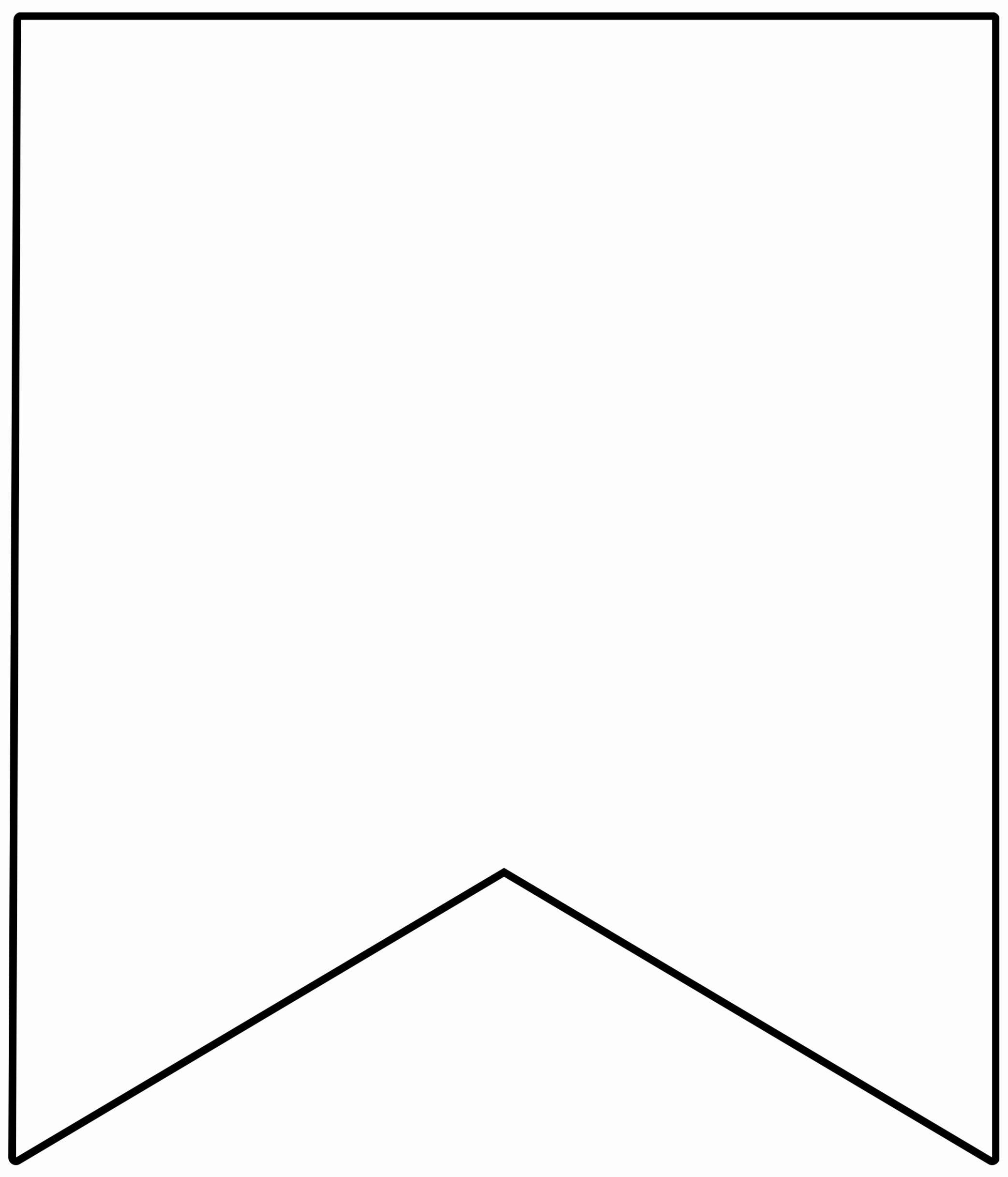 Printable Pennant Banner Template Elegant Free Printable Banner Templates Blank Banners Paper