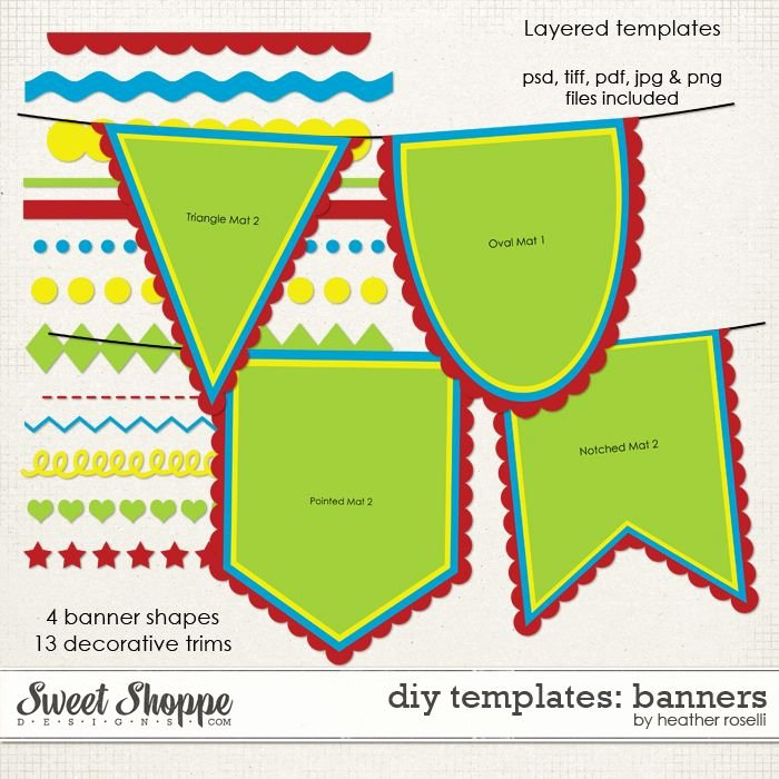 Printable Pennant Banner Template Luxury Printable Banners Templates Free