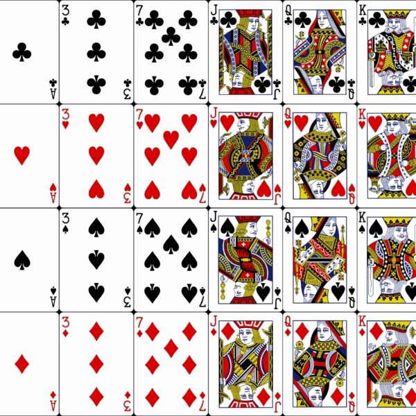 Printable Playing Card Template Best Of 30 Playing Card Template Free Download