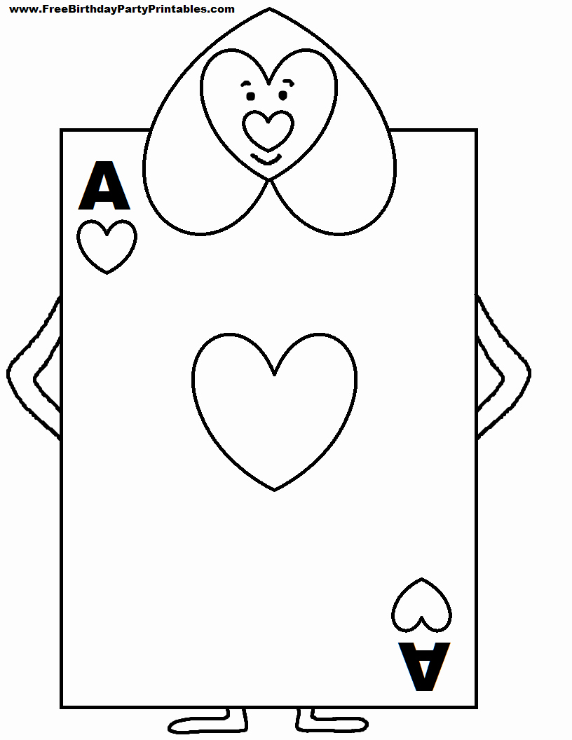 Printable Playing Cards Template Fresh Alice In Wonderland Card sol Rs Printable Cutout