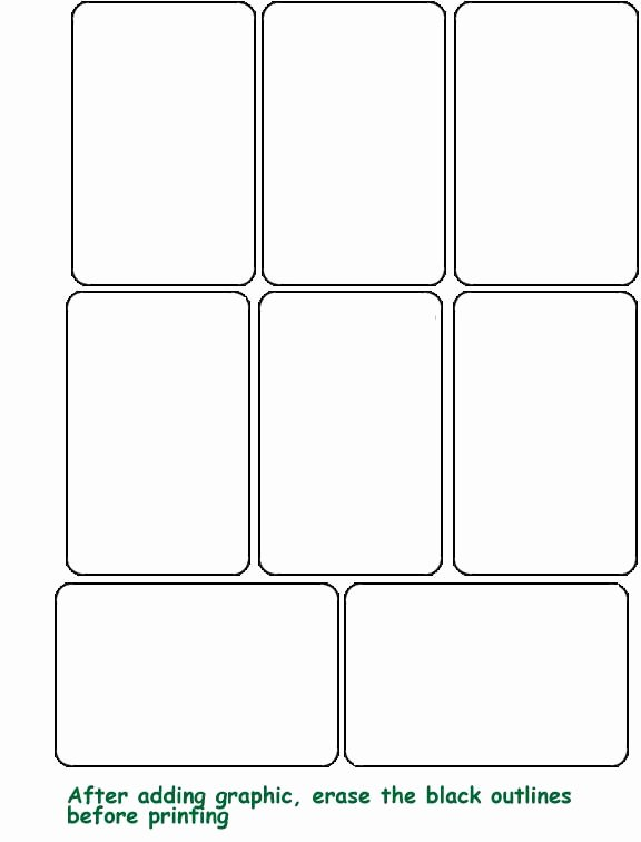 Printable Playing Cards Template Luxury 7 Best Of Free Printable Blank Playing Cards