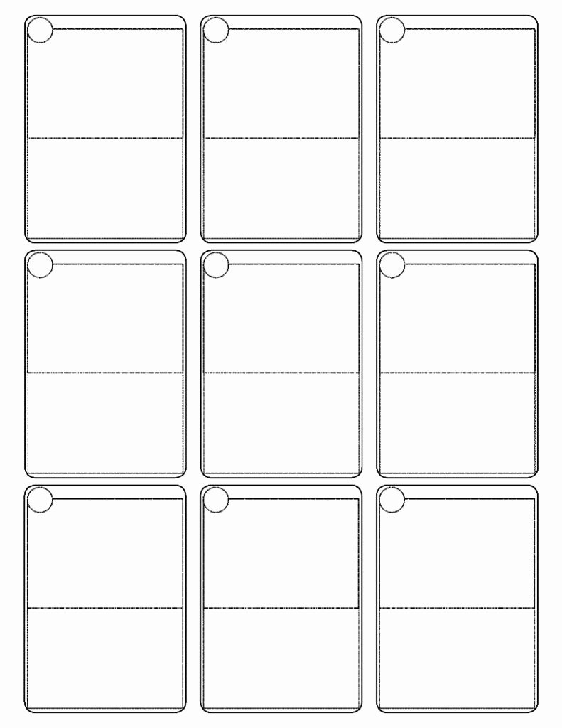 Printable Playing Cards Template Luxury Pokemon Cards Template
