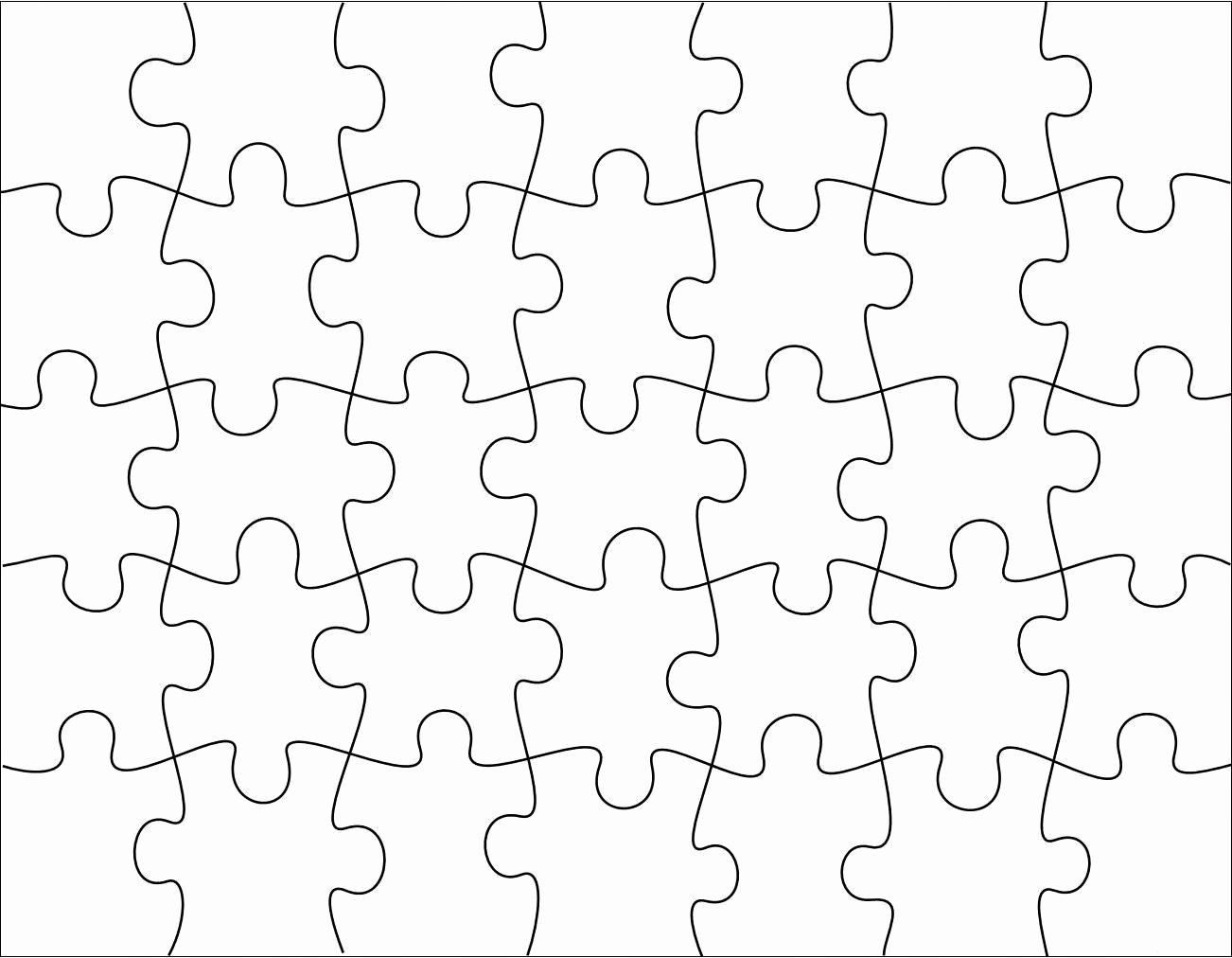 Printable Puzzle Pieces Template Awesome Robbygurl S Creations Diy Print Color & Cut Jigsaw Puzzles