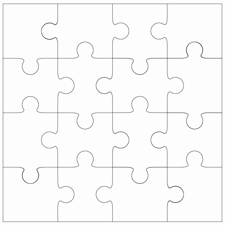 Printable Puzzle Pieces Template Beautiful 25 Best Ideas About Puzzle Piece Template On Pinterest