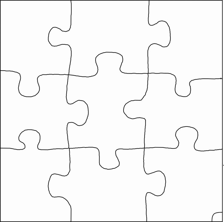 Printable Puzzle Pieces Template Best Of Best S Of Random 9 Piece Puzzle Template 9 Piece