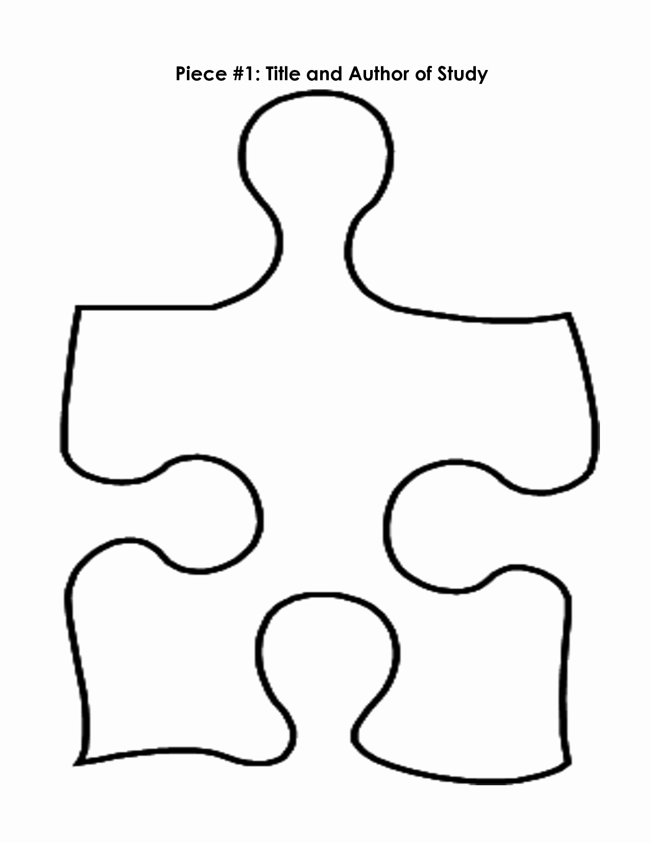 Printable Puzzle Pieces Template Best Of Free Puzzle Pieces Template Download Free Clip Art Free