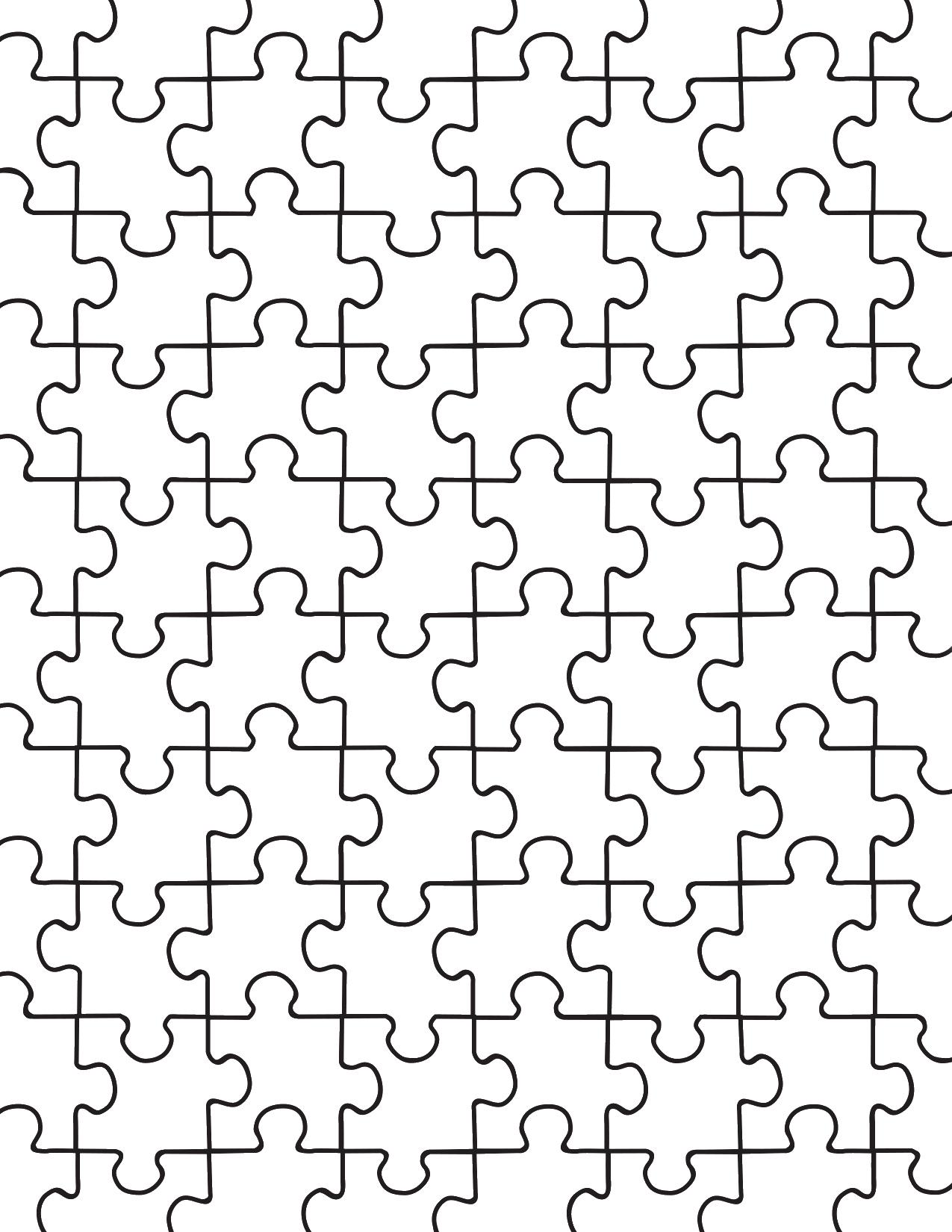 Printable Puzzle Pieces Template Elegant Printable Puzzle Pieces Template