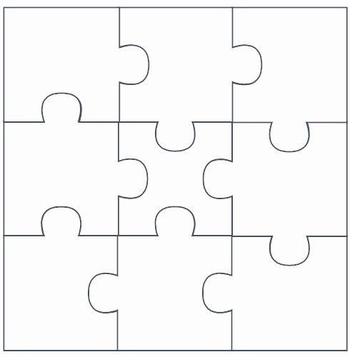 Printable Puzzle Pieces Template Inspirational Free Puzzle Pieces Template Download Free Clip Art Free