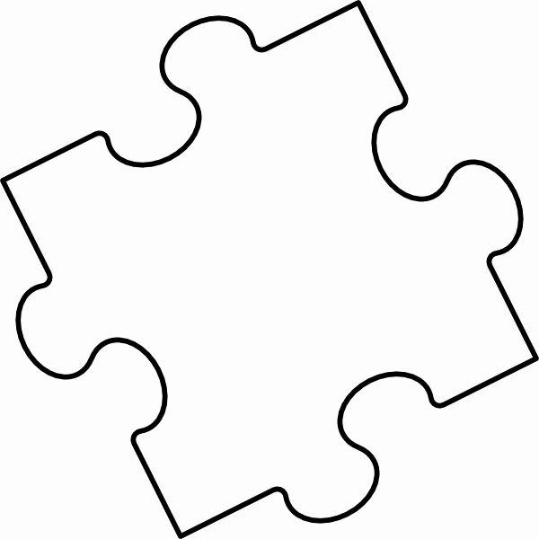 Printable Puzzle Pieces Template Luxury 25 Best Ideas About Puzzle Piece Template On Pinterest