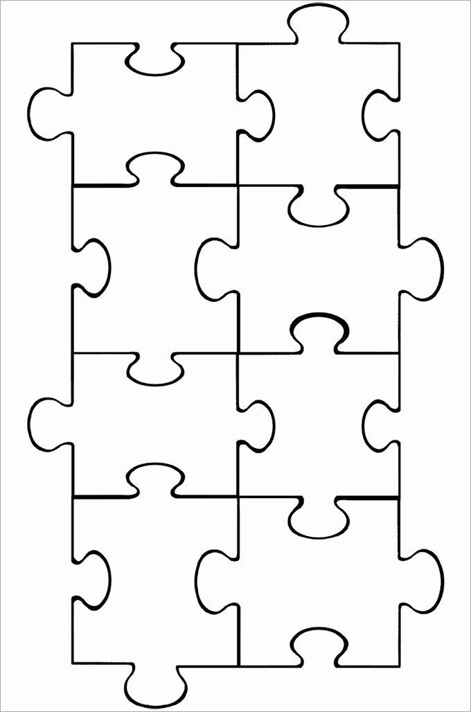 Printable Puzzle Pieces Template New Best 25 Puzzle Pieces Ideas On Pinterest