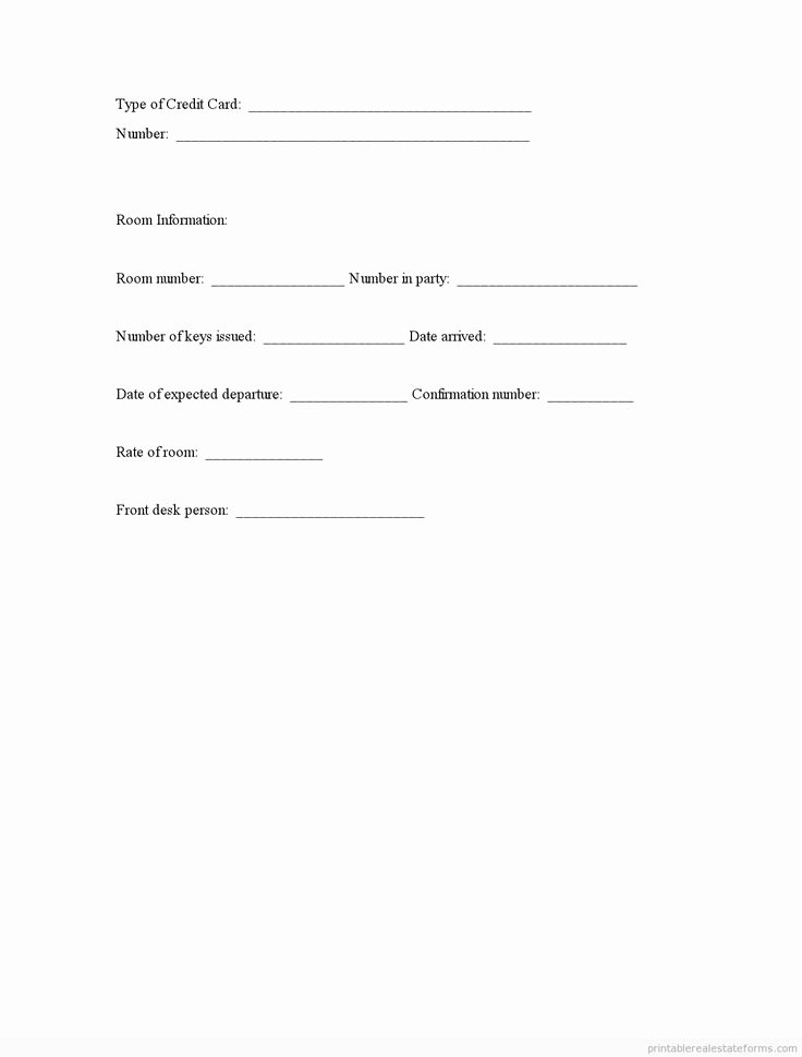 Printable Registration form Template Lovely Printable Guest Registration Template 2015