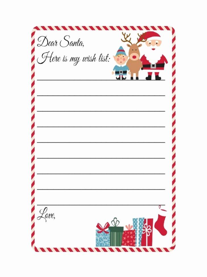 Printable Wish List Template New Bucket List Christmas Holiday List Free Printable Lists