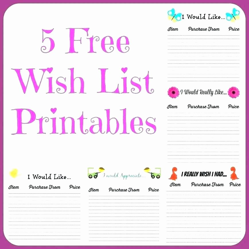 free wish list printable in addition to things that the kids want template christmas pdf