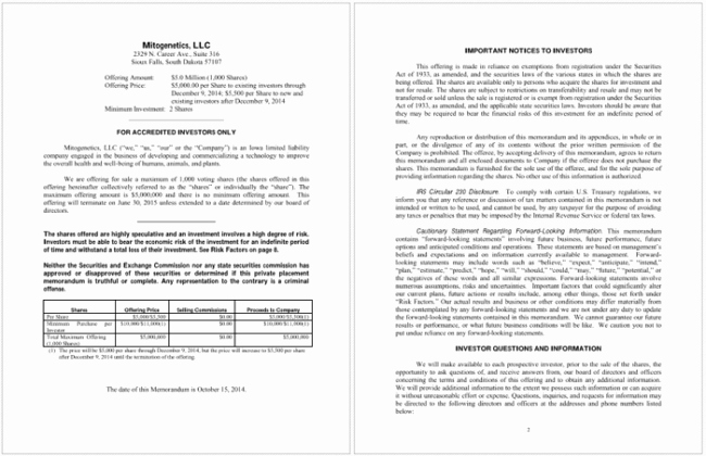 Private Placement Memorandum Template Inspirational Private Placement Memorandum Templates Write Your Own Ppm