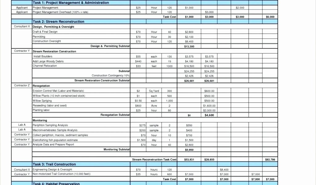 Pro forma Budget Template Awesome Pro forma Business Bud Templates Excel In E Statement