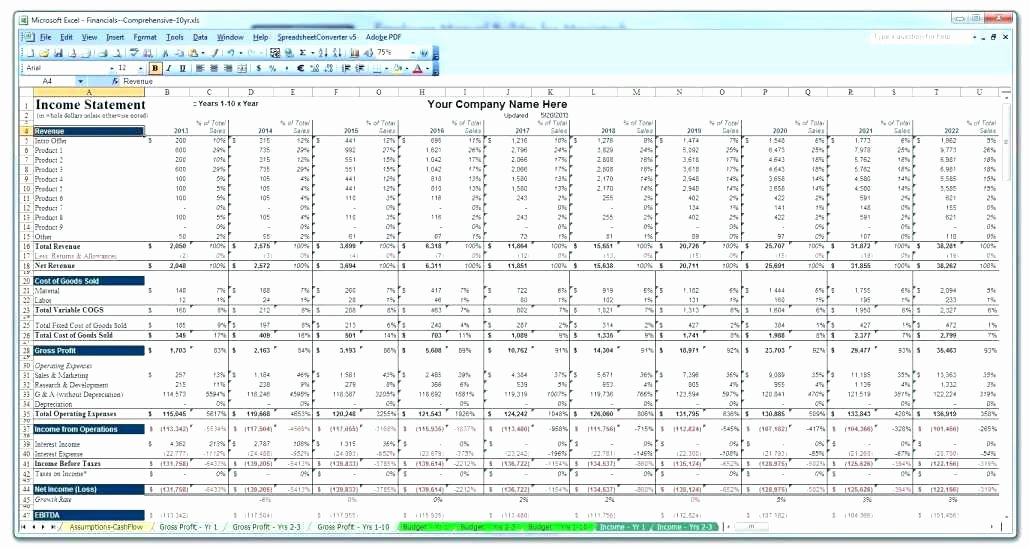 Pro forma Budget Template Luxury Pro forma Business Bud Templates Bud and Cash Flow