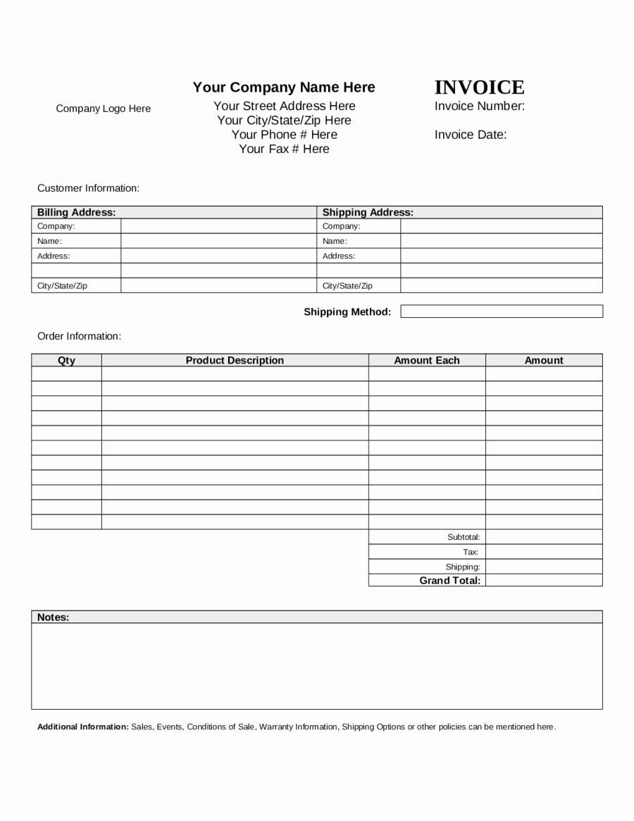 Pro forma Invoice Template New 2019 Proforma Invoice Fillable Printable Pdf & forms