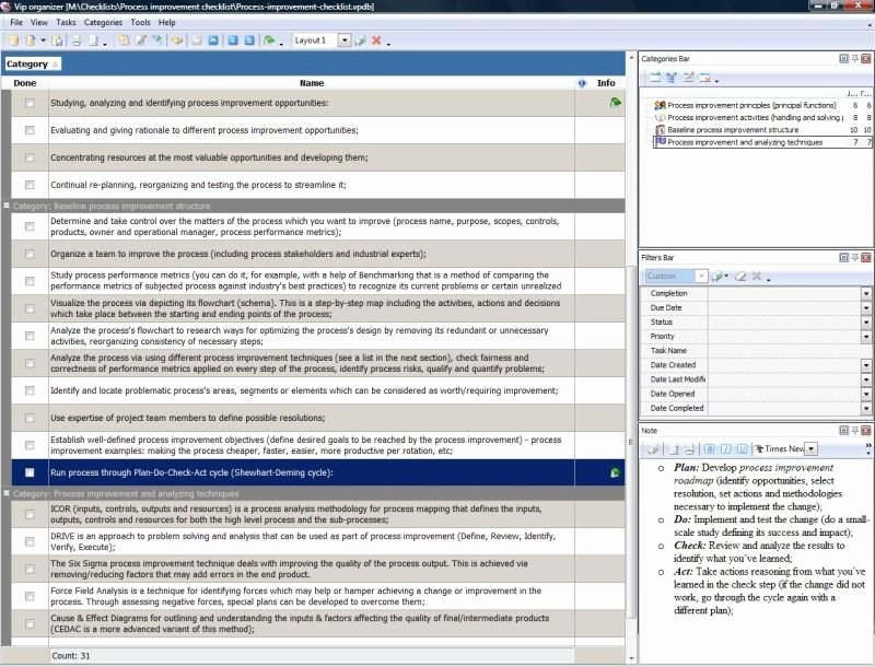 Process Improvement Template Excel Best Of Process Improvement Template