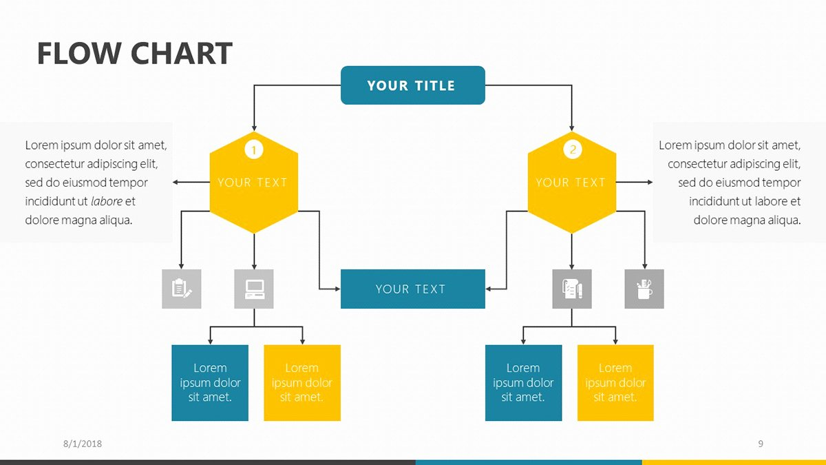 Process Map Template Powerpoint Fresh Flow Chart