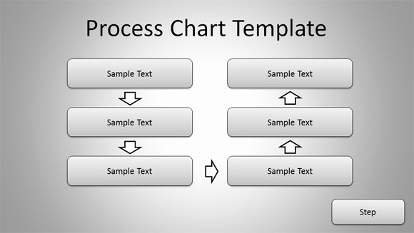 Process Map Template Powerpoint Lovely Free Simple Process Chart Template for Powerpoint
