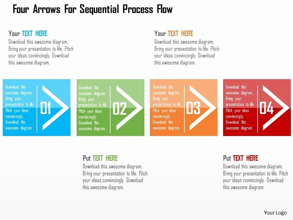 Process Map Template Ppt Elegant Use An Element Of A Shape On Each Slide Of Powerpoint