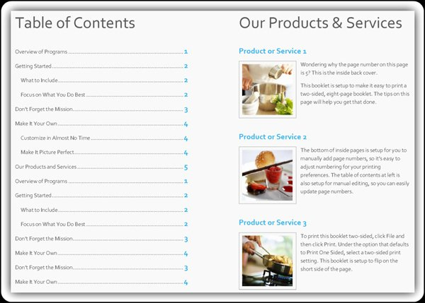 Product Catalog Template Word Fresh Free Product Catalog Template Word