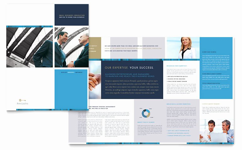 Product Catalog Template Word Fresh Small Business Consulting Brochure Template Word & Publisher