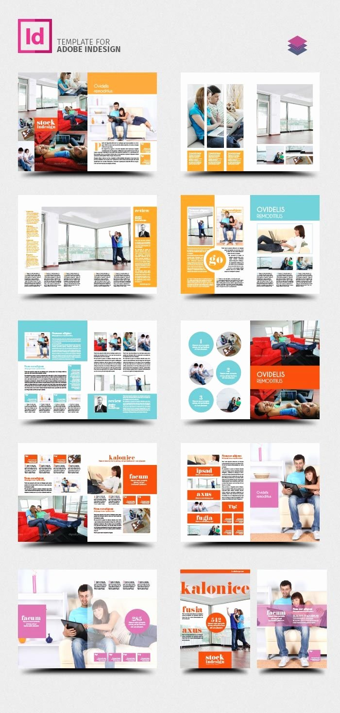 Product Catalogue Template Free Awesome Free Indesign Pro Magazine Template Kalonice