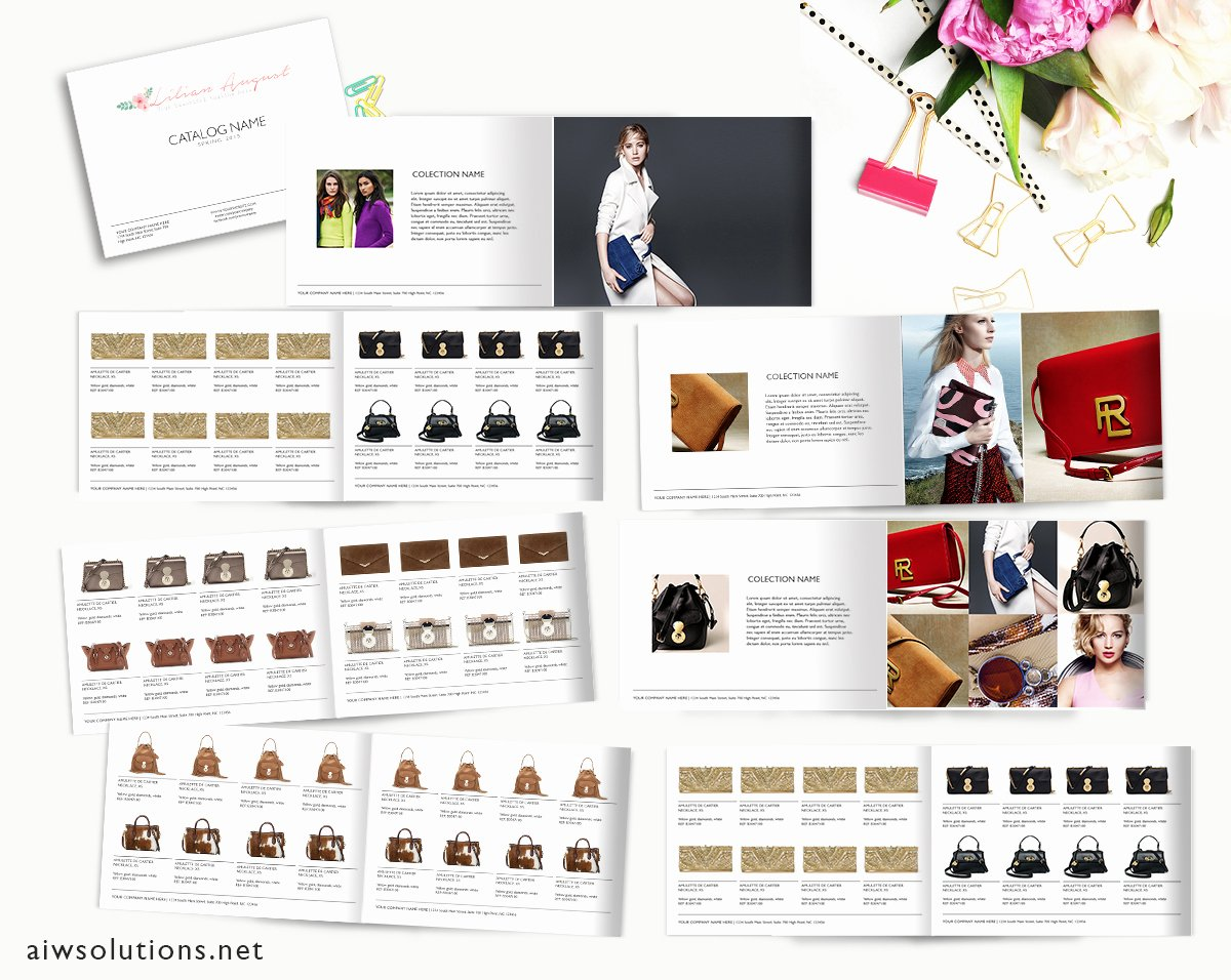 Product Catalogue Template Free Awesome wholesale Catalog Template Product Catalog Indesign