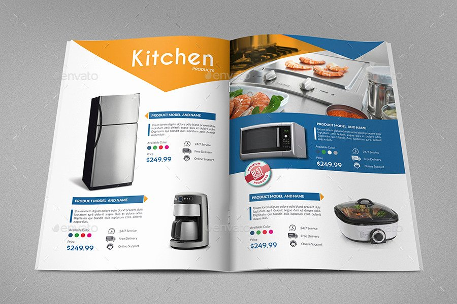 Product Catalogue Template Free Elegant Products Catalog Brochure Template Vol2 24 Pages by