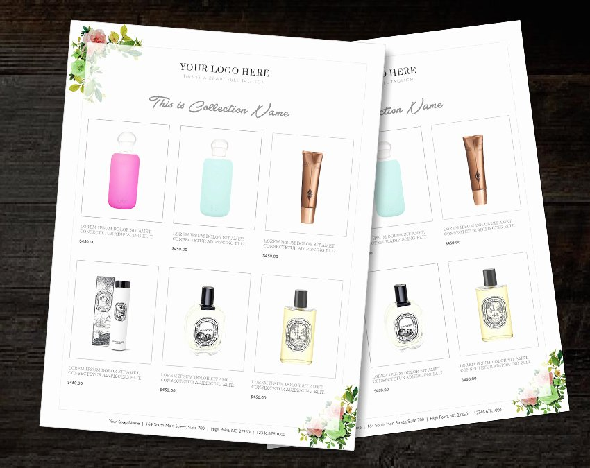Product Catalogue Template Free Elegant wholesale Catalog Template Product Catalog Indesign