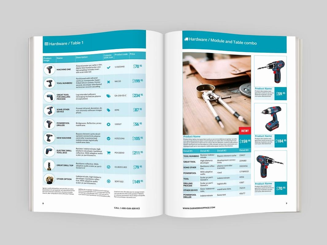 Product Catalogue Template Free Lovely Indesign Catalog Templates
