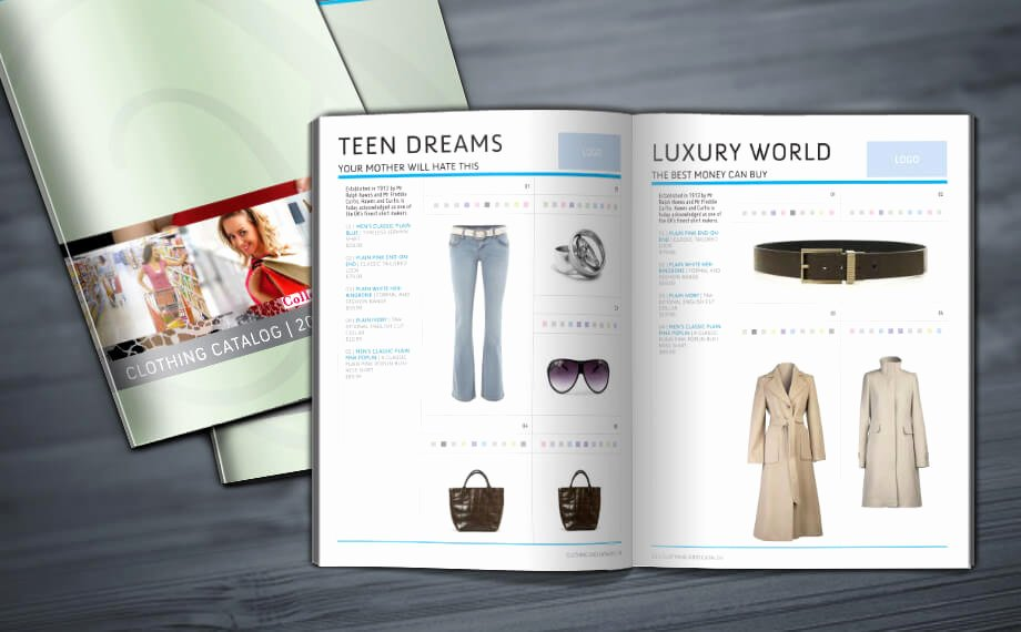Product Catalogue Template Free Luxury Clothing Grid Catalog Indesign Template 16 Pages to