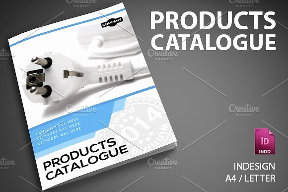 Product Catalogue Template Word Awesome Product Catalog 6 Brochure Templates Creative Market