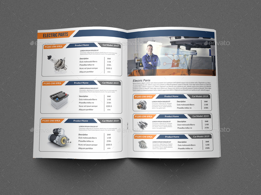 Product Catalogue Template Word Best Of Auto Parts Catalog Brochure Template Vol 2 by Ow