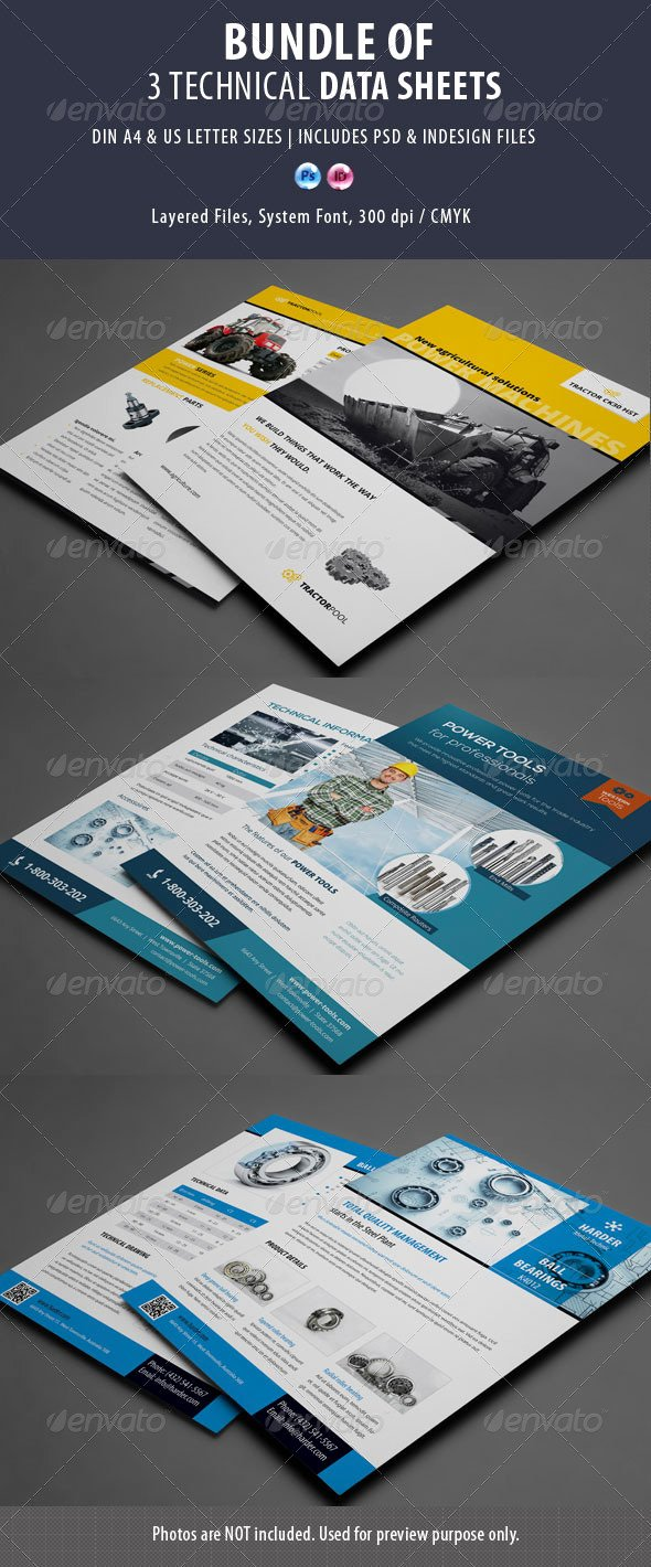 Product Data Sheet Template Best Of Print Template Graphicriver 3 Technical Data Sheets