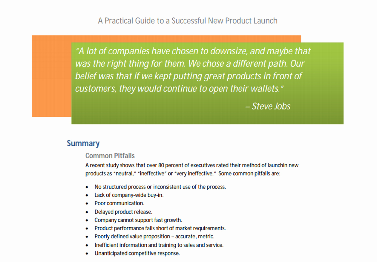 Product Launch Plan Template Inspirational Launching Your Spaceship the Essentials Of Product Launch