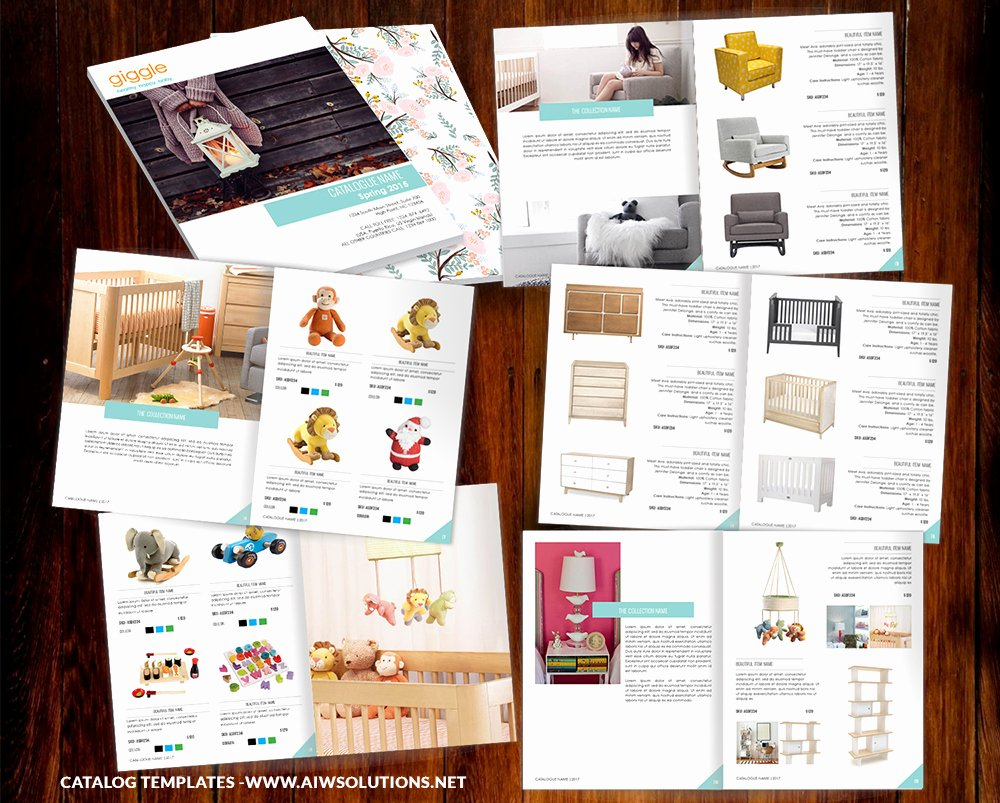 Product Line Card Template Awesome Product Catalog Template for Hat Catalog Shoe Catalog